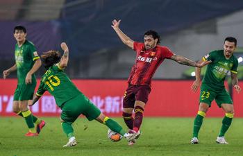 Shanghai SIPG edge Wuhan Zall, Hebei draw Beijing in Chinese Super League
