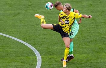 Dortmund ease past Monchengladbach in Bundesliga
