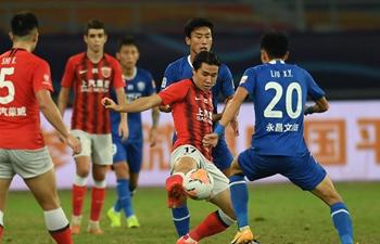 Shanghai SIPG beat Shijiazhuang Ever Bright in CSL