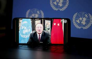 Chinese envoy fights back at U.S. accusations in Security Council