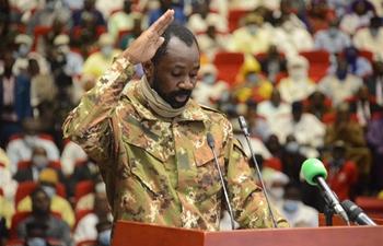 Mali transitional president sworn in following August mutiny