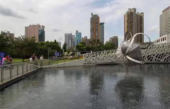In pics: Shanghai Jing'an Int'l Sculpture Project