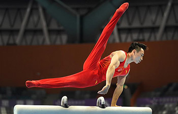 Highlights of Chinese National Artistic Gymnastics Championships