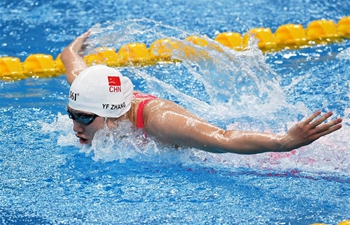 Highlights of 2020 Chinese National Swimming Championships