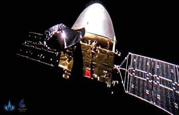 China's Tianwen-1 takes selfies en route to Mars