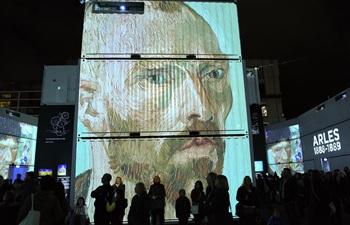 """Immersive exhibition """"Digital Nights Wellington -- Van Gogh Alive"""" held in Wellington"""