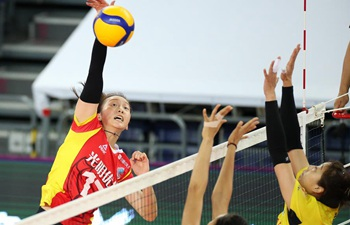 In pics: semifinal at Chinese Women's Volleyball Championship