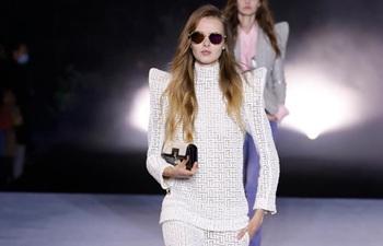 BALMAIN, KENZO creations at Paris fashion show