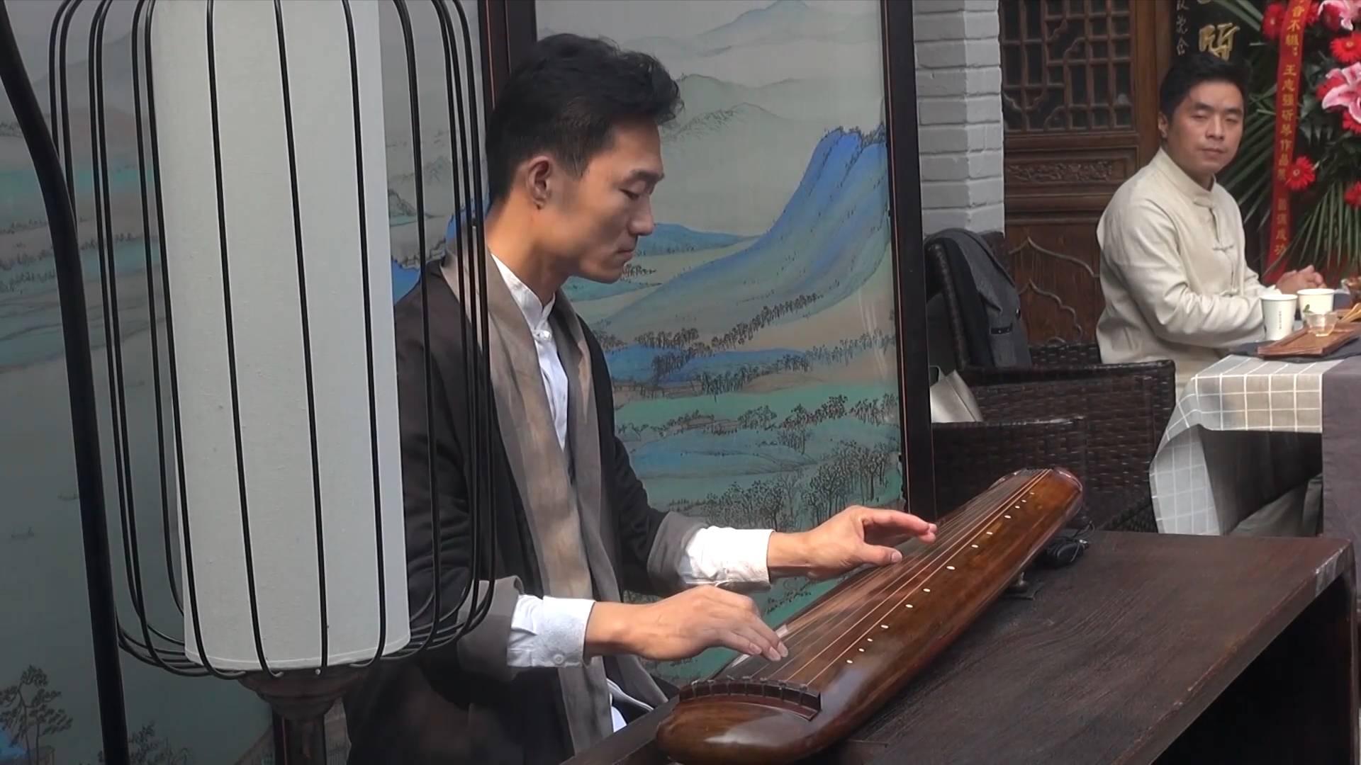 Traditional guqin art exhibition held in Beijing