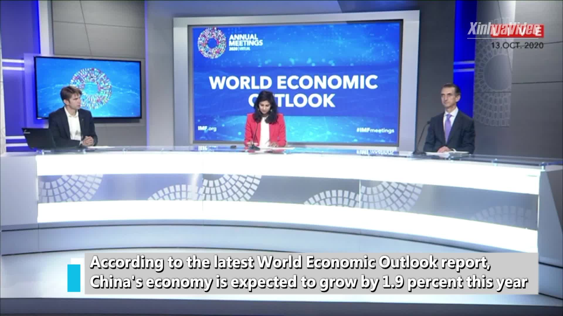 """World economy faces """"difficult climb"""" out of pandemic, with China's growth leading the way"""