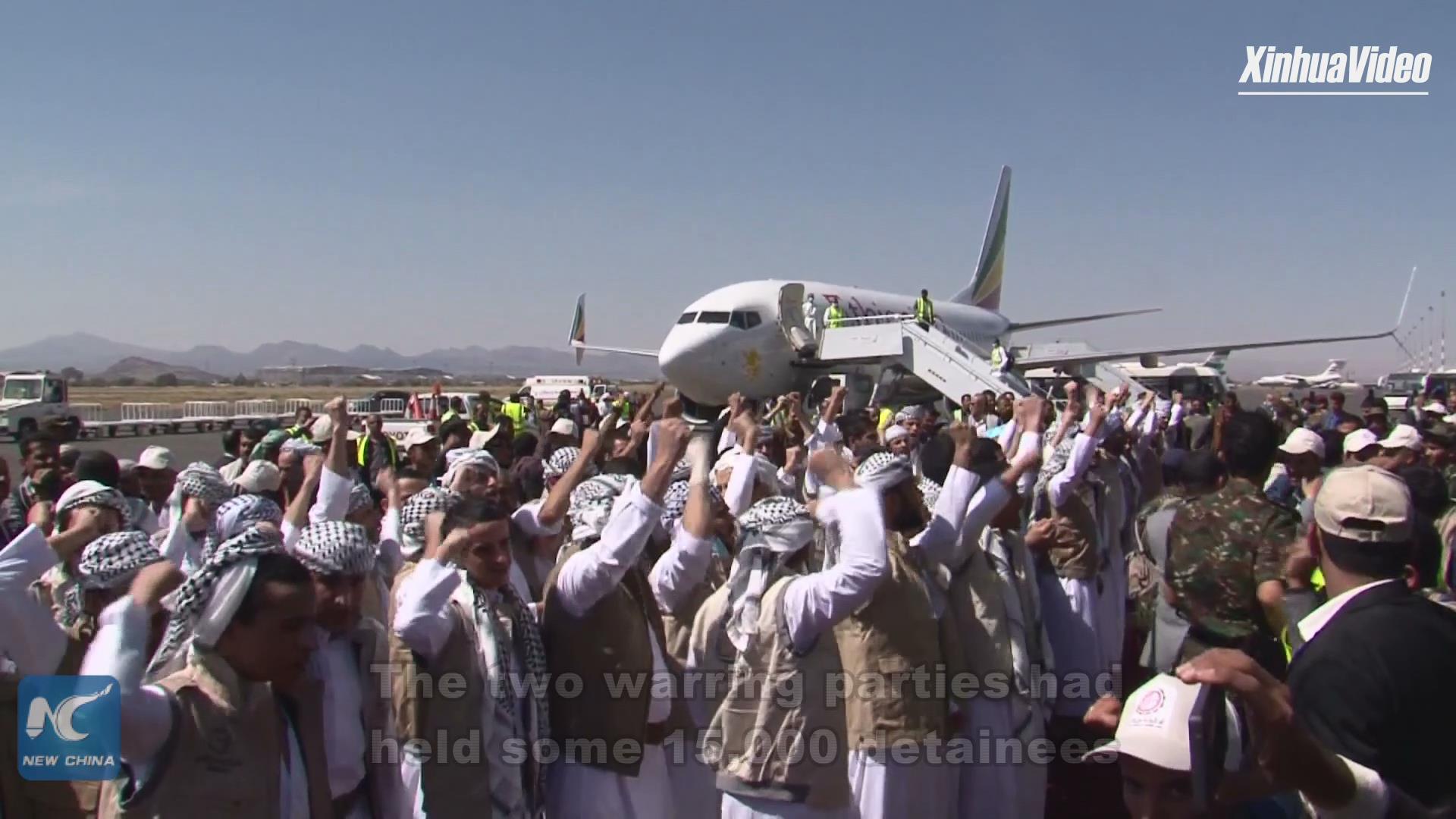 Yemeni gov't, Houthi rebels complete swap of 1,056 prisoners