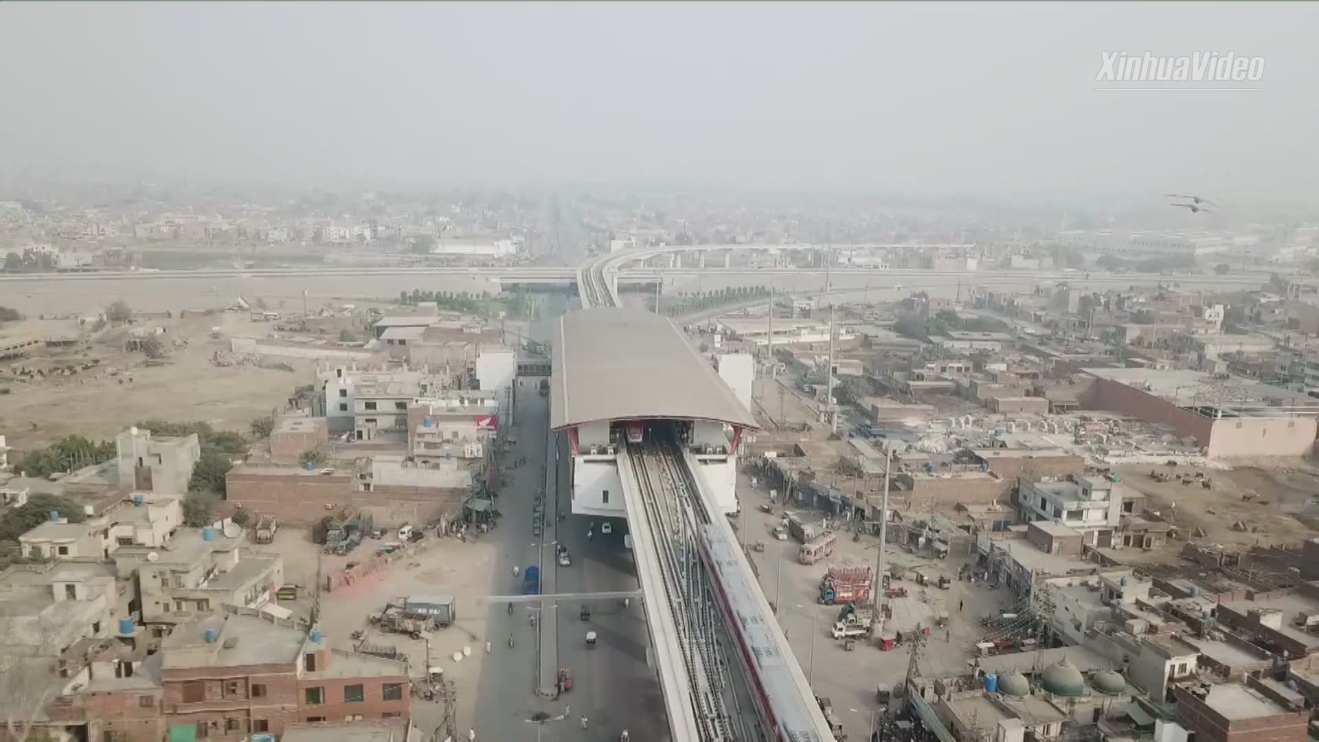 Pakistan's first metro train line starts operation in Lahore
