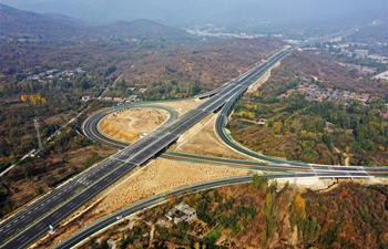 Expressway linking Jinan, Tai'an in E China to put into operation