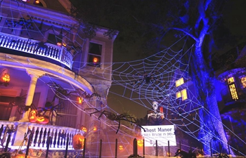 """""""Ghost Manor"""" attracts a lot of visitors ahead of Halloween"""