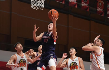 Jilin beats Guangzhou for fifth straight win in CBA