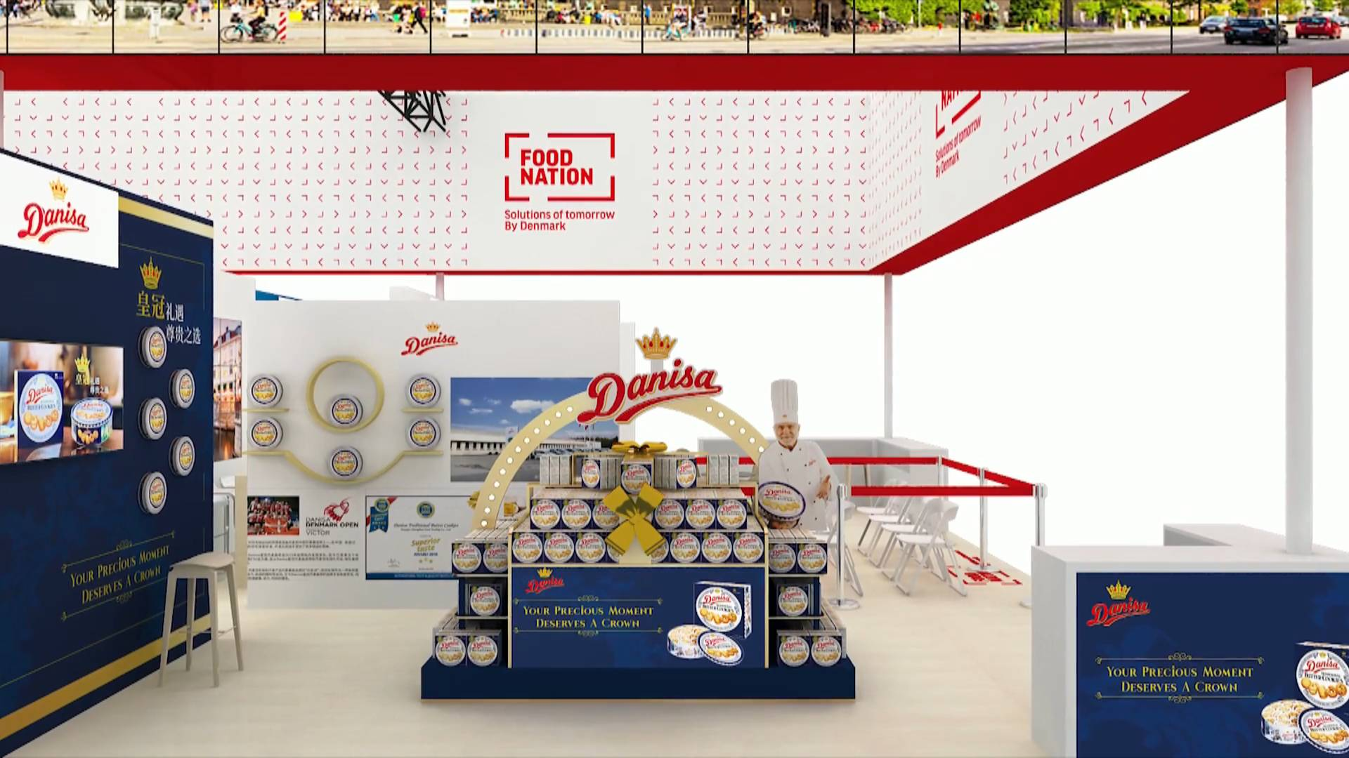 3rd CIIE to see largest representation of Denmark's food companies
