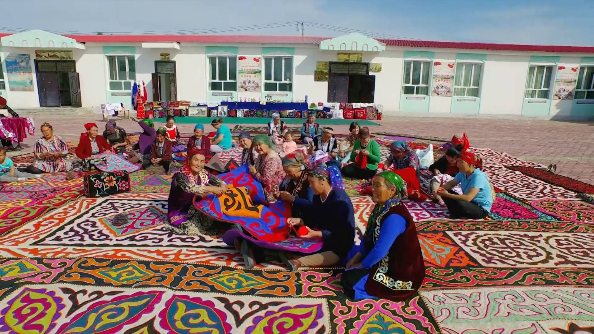 Relocation, employment projects help people out of poverty in China's Xinjiang