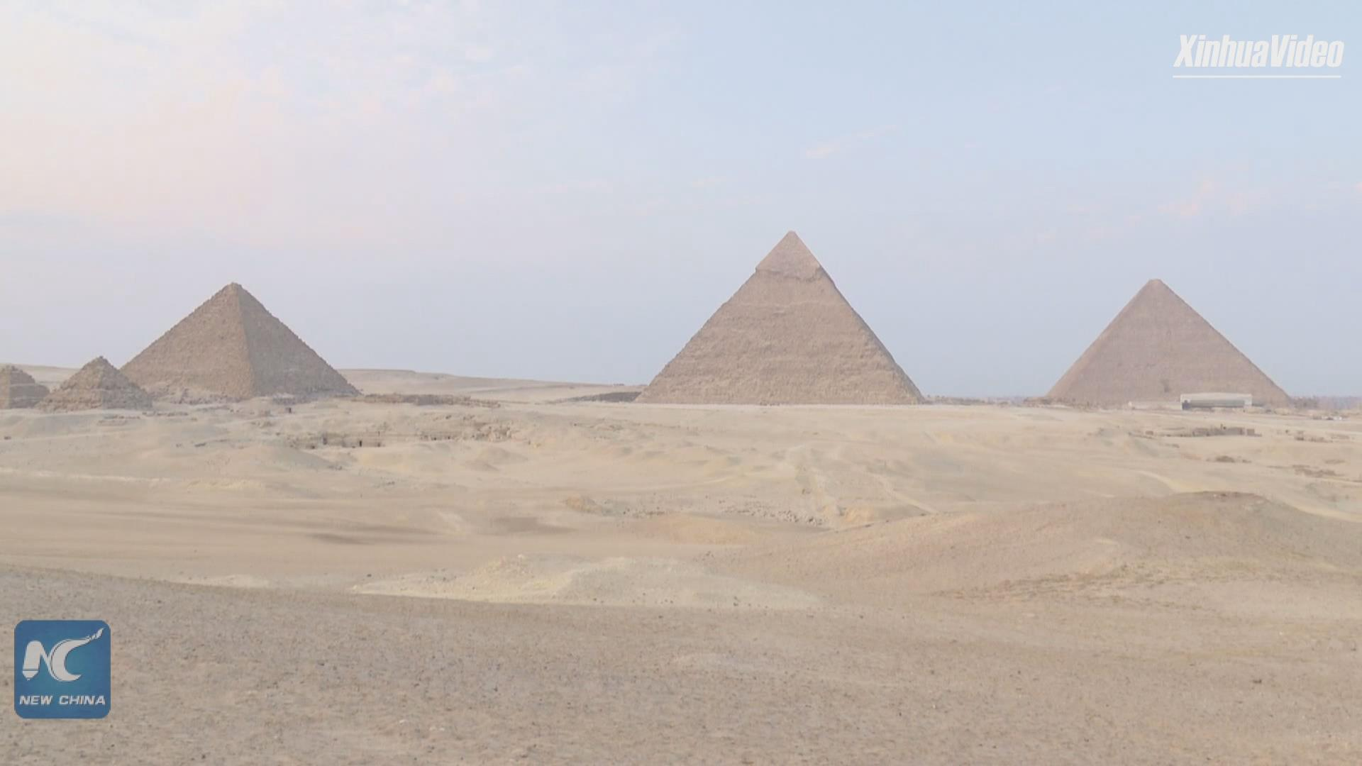 Egyptian art platform plans to hold 1st int'l exhibition at Giza Pyramids in 2021