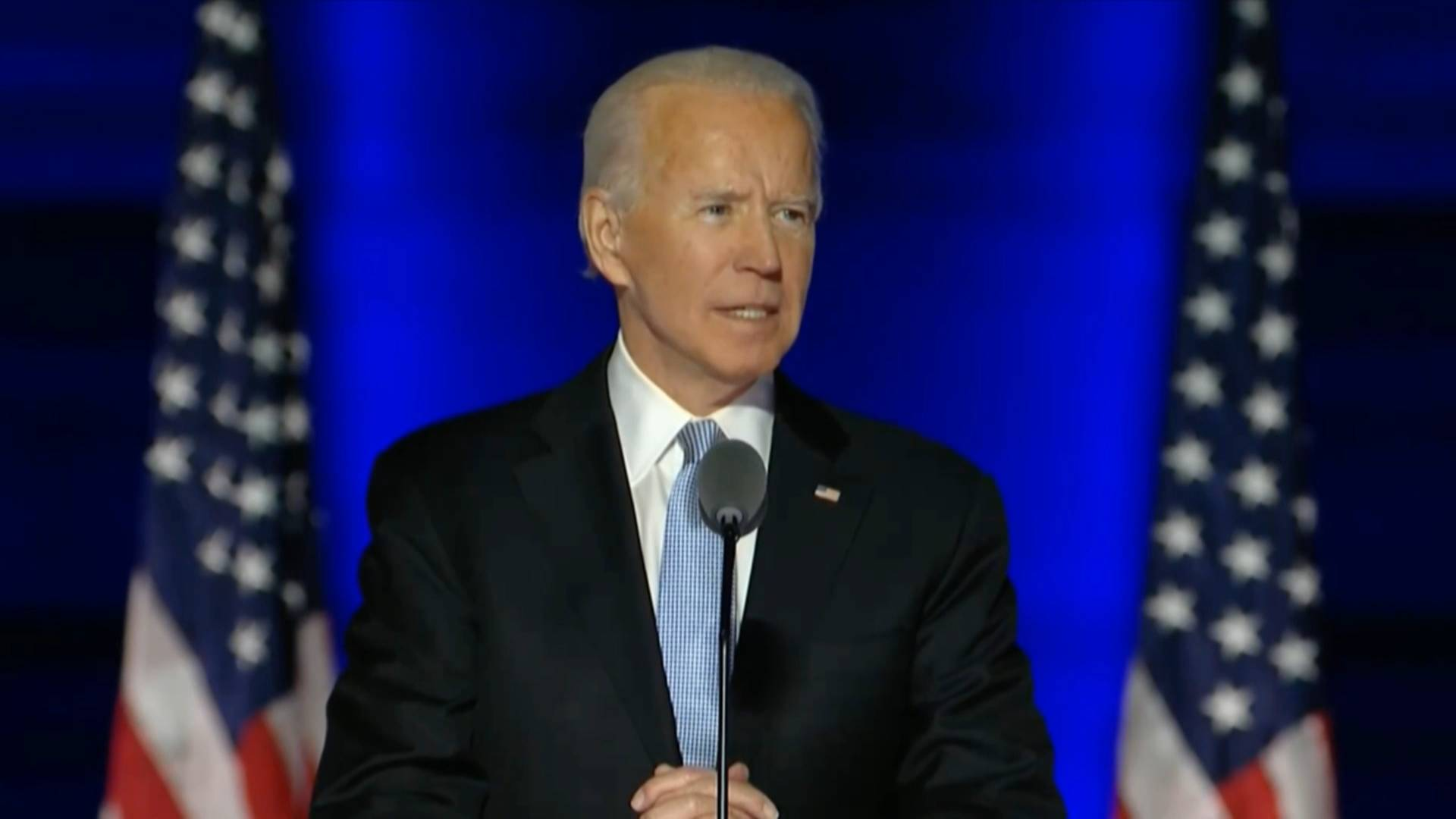 Biden declares victory after divided election, Trump refuses to concede defeat