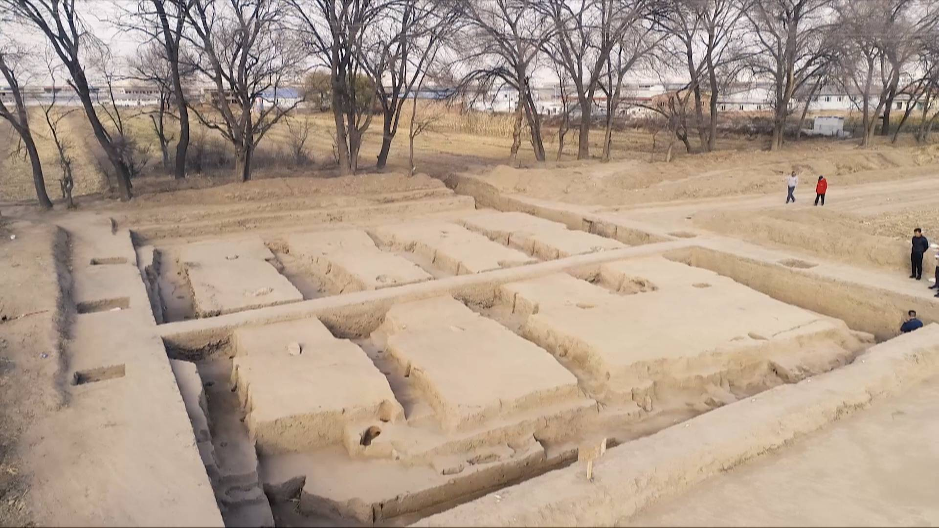 2,000-yr-old barn discovered in Inner Mongolia