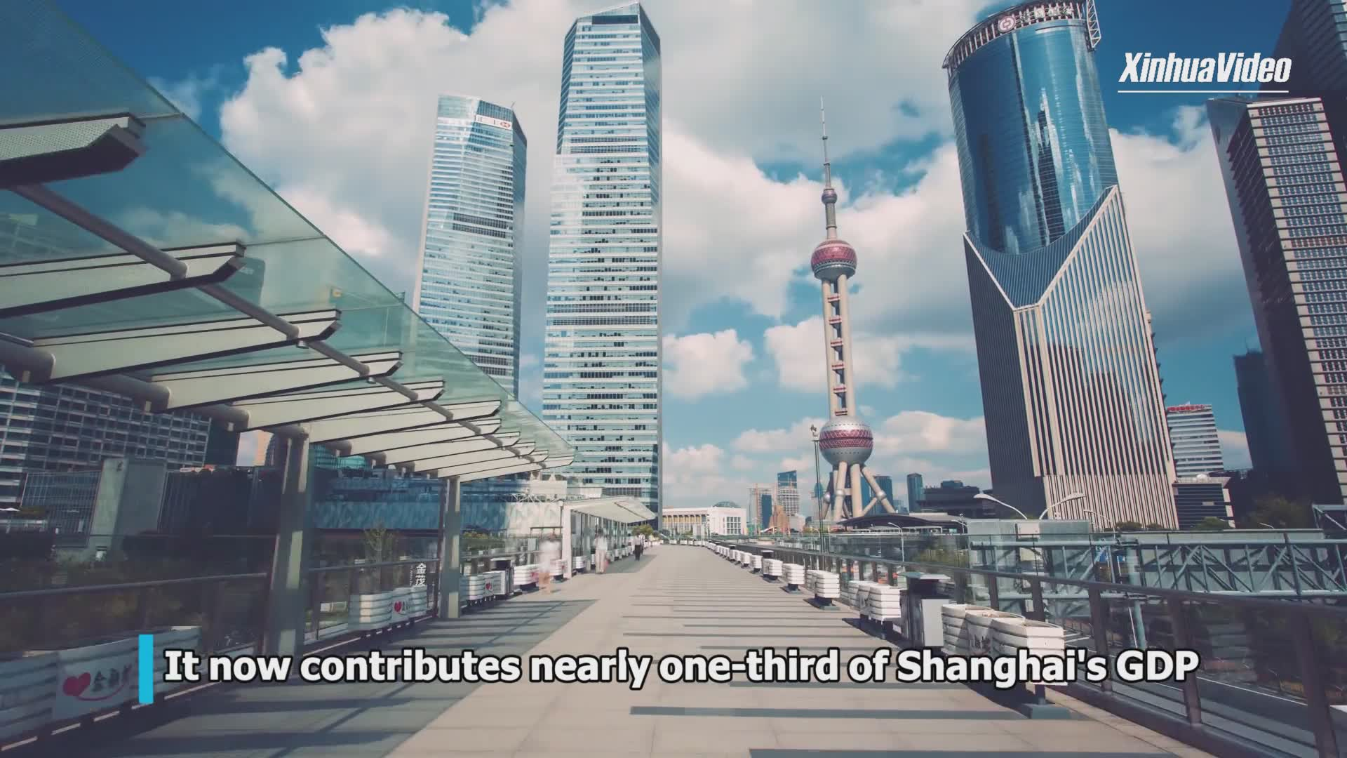 Shanghai's Pudong witnesses 30 years of development, opening-up