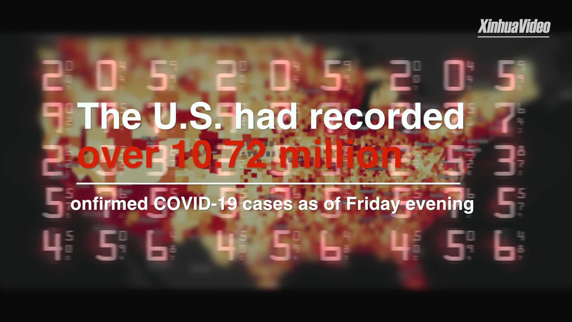 U.S. sets new world records in key COVID-19 metrics