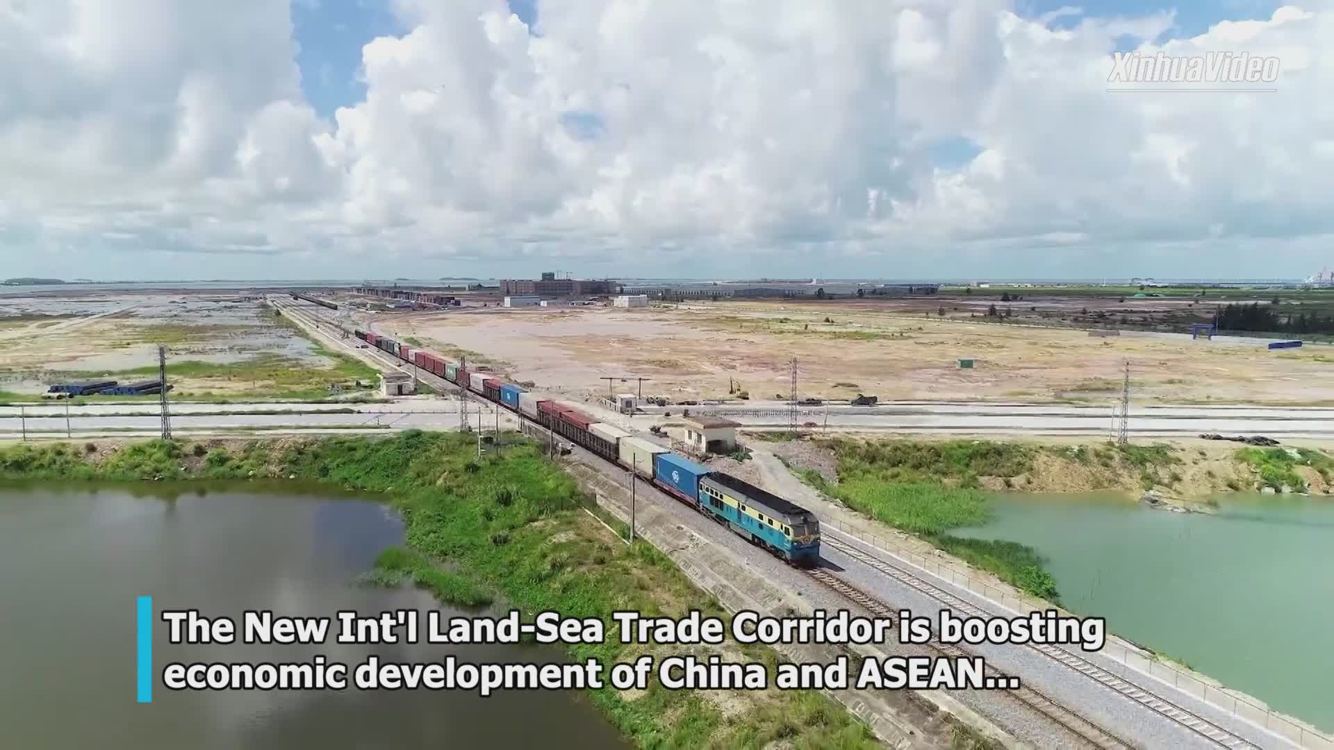 Int'l land-sea trade, logistics passage boosts China-ASEAN economic ties