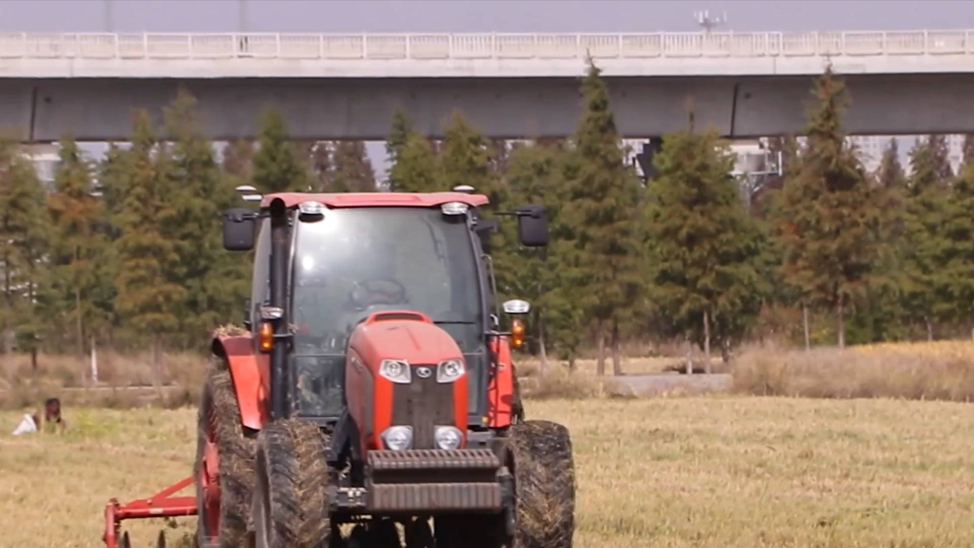 Shanghai starts testing its first unmanned farm