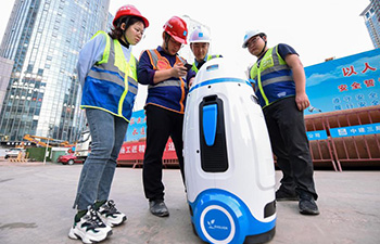 """Constructors adopt """"smart worksite"""" system to ensure safety in E China"""