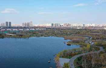 View of Shuixi Park in Tianjin