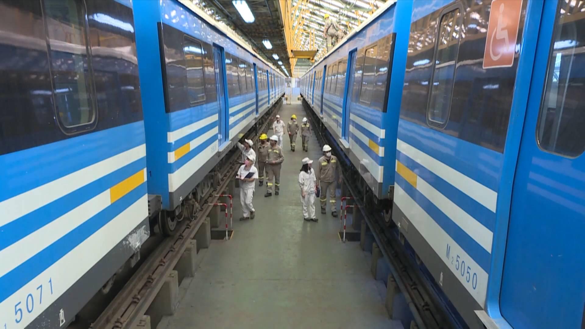 China-Argentina cooperation guarantees smooth rail services amid pandemic