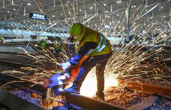 Reconstruction of Shenzhen North Railway Station enters final phase