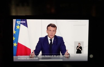 "France's Macron unveils gradual easing of lockdown, expecting ""new stage"""