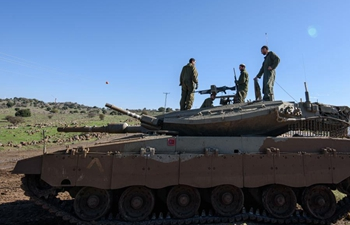 Israel missile attack hits Syrian military targets