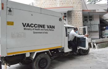 India prepares cold storage equipment for COVID-19 vaccine