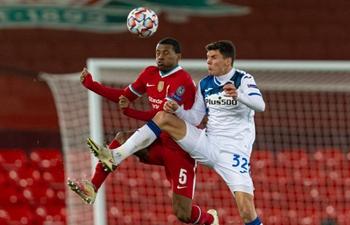 UEFA match: Liverpool FC vs. Atalanta BC