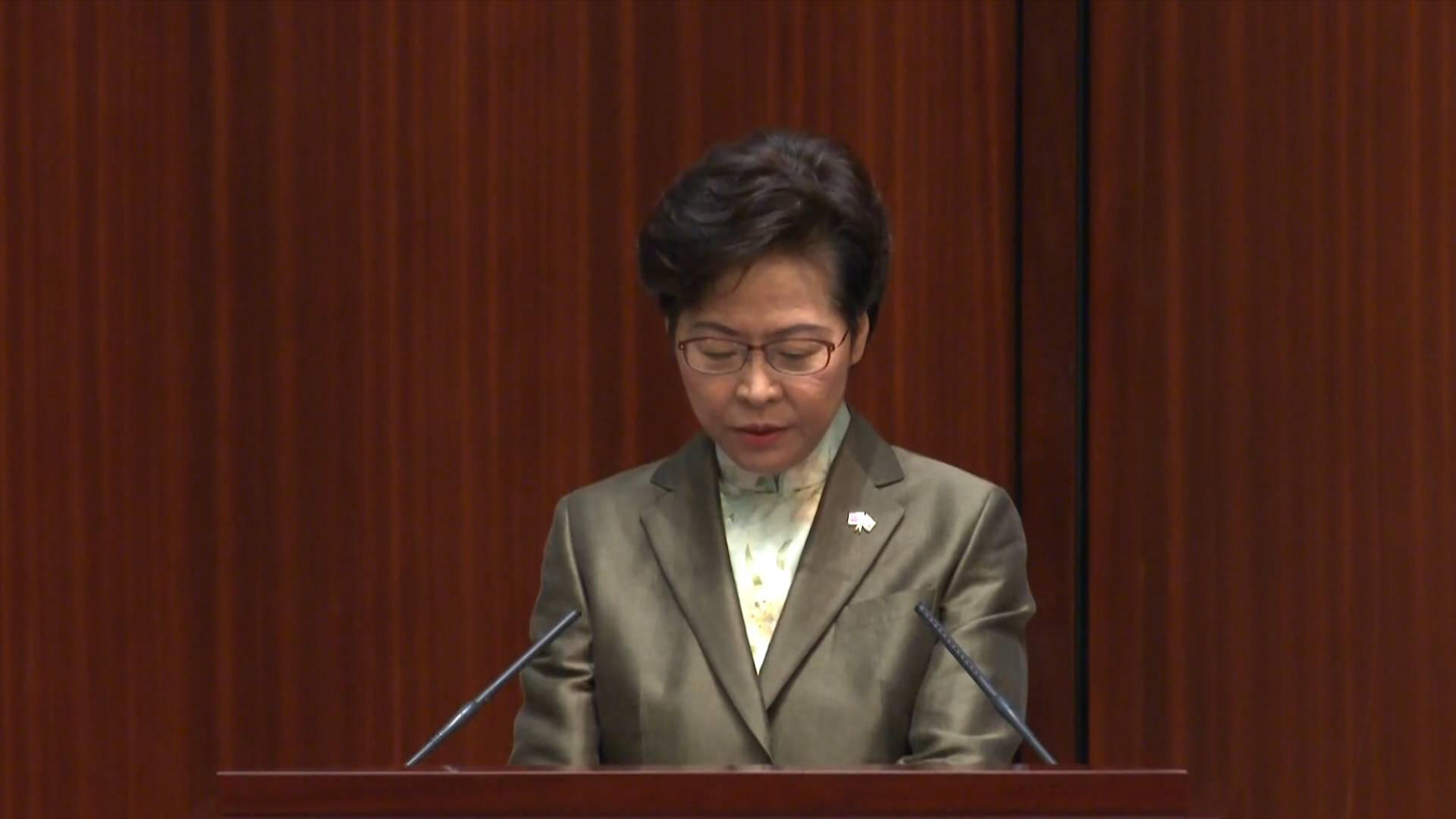 National security law effective in restoring stability in Hong Kong: HKSAR chief executive
