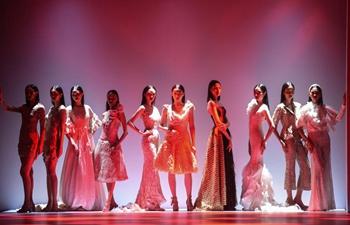 Creations of late designer Barli Asmara presented during recording of Jakarta Fashion Week 2021 virtual show