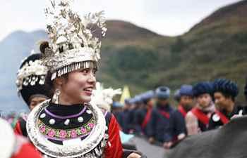 Dragon-themed folk activity held in Songtao Miao Autonomous County in Guizhou