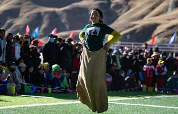 Zhanang County in Tibet kicks off first farmers' sports contest