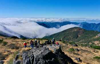 Scenery of Wuyishan National Park in SE China