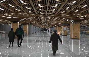 Chengdu opens 5 new metro lines