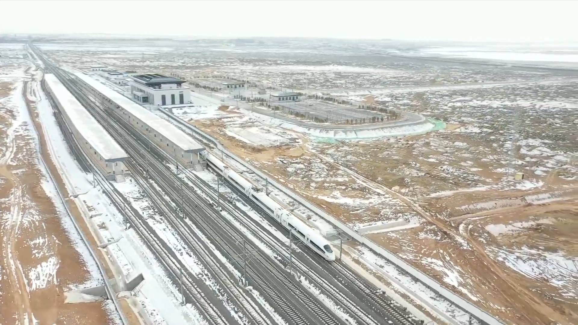 Chinese railway project adopts smart technology to ensure smooth operation