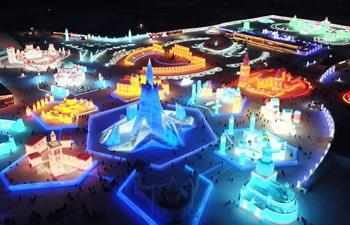 22nd Harbin Ice-Snow World opens to public in NE China