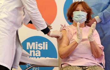 Vaccination against COVID-19 starts in Croatia