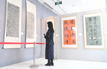 Exhibition featuring calligraphy, stone inscription works of Grand Canal held in Beijing