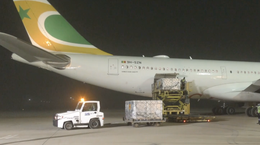 GLOBALink | Senegal receives first batch of Chinese COVID-19 vaccines