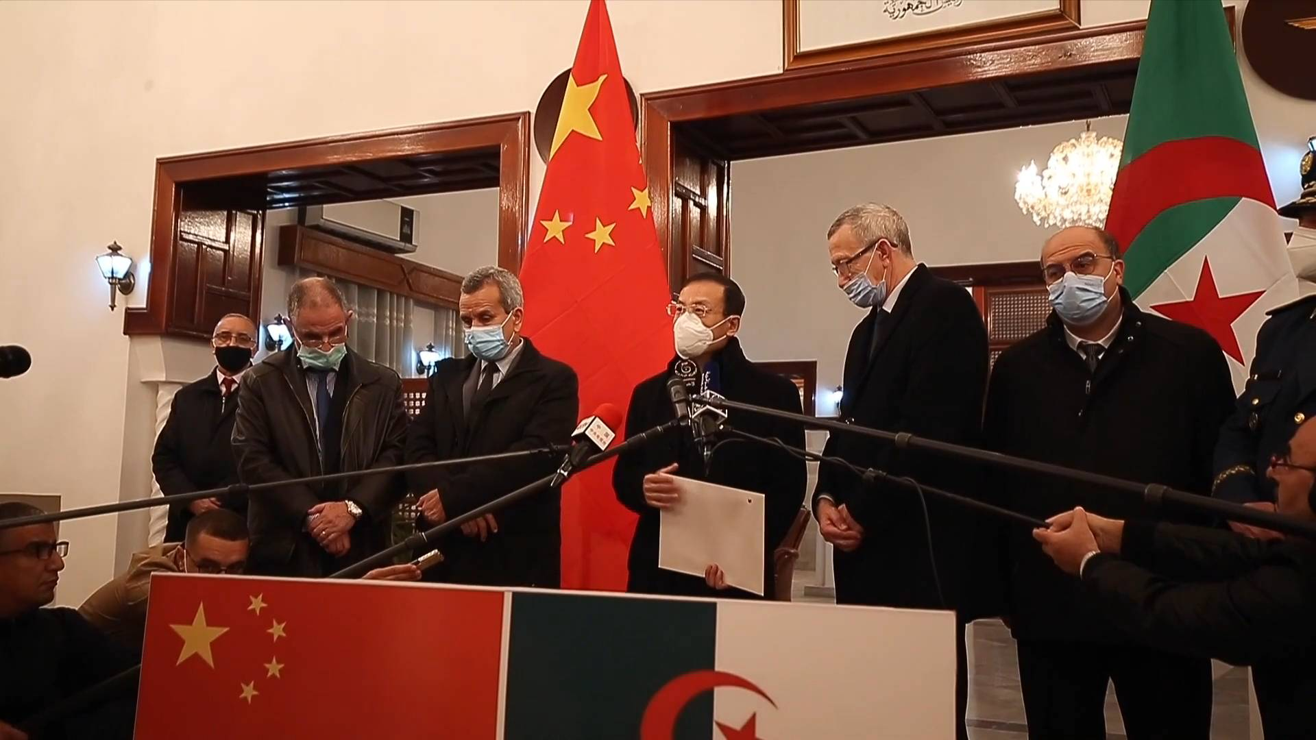 GLOBALink | Algeria receives donation of 200,000 doses of anti-COVID-19 vaccine from China