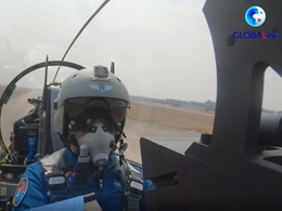 GLOBALink | China Air Force pilot returns to the skies after accident