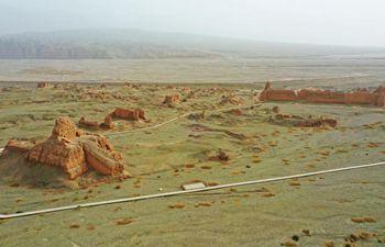 In pics: ruins of Subax buddhist temple in Xinjiang
